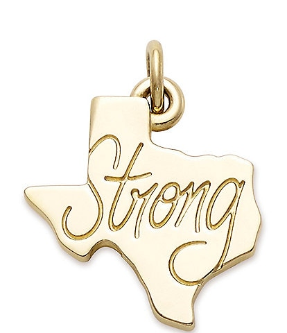 James Avery Texas Strong Charm