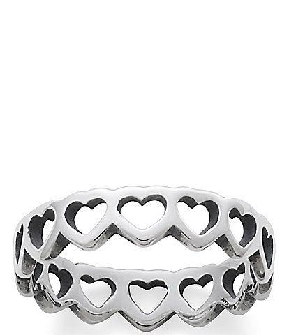 James Avery Tiny Hearts Band Ring