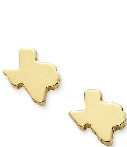 James Avery Tiny Texas Earrings