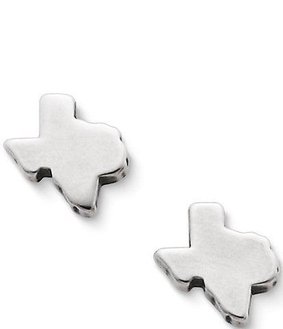 James Avery Tiny Texas Stud Earrings