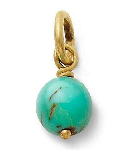 James Avery Turquoise Bead Charm