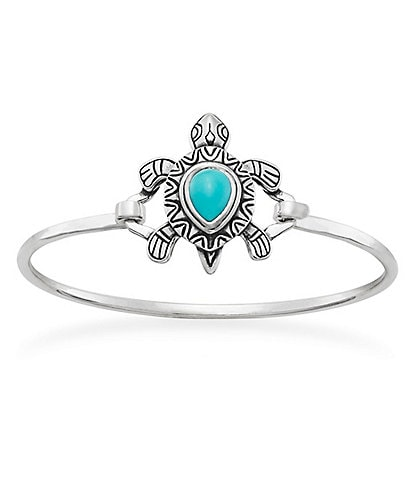 James Avery Turquoise Turtle Hook-On Bracelet