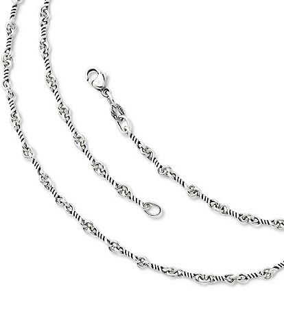 James Avery Twisted Link Sterling Silver Chain