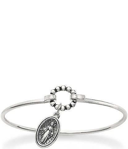 James Avery Virgin Mary Hook-On Bracelet