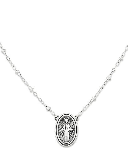 James Avery Virgin Mary Necklace