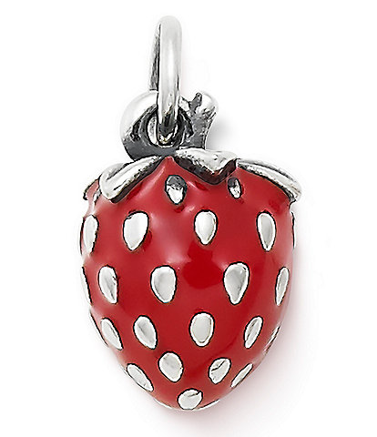 James Avery Wild Strawberry Charm