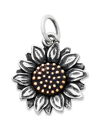 James Avery Wild Sunflower Charm