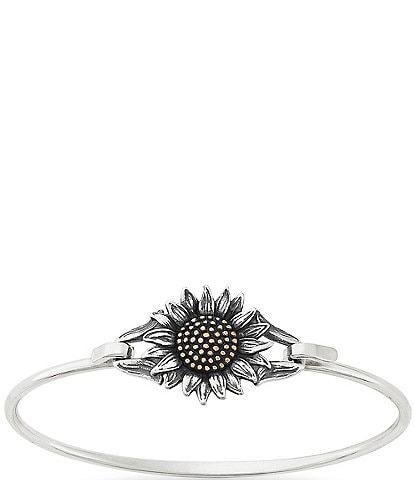 James Avery Wild Sunflower Hook-On Bracelet
