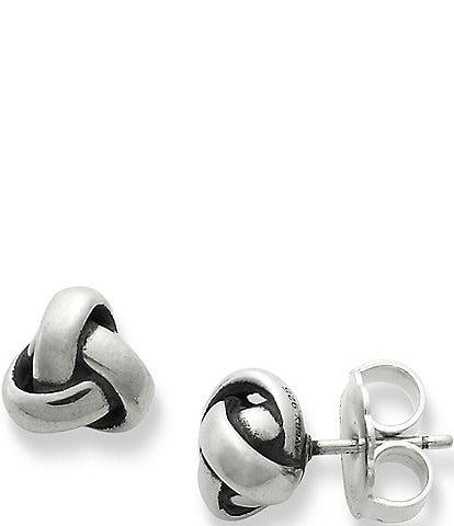 James Avery Woven Knot Stud Earrings