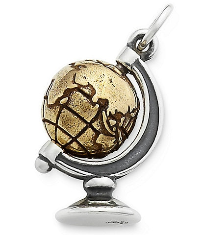 James Avery You Mean the World to Me Sterling Silver Charm