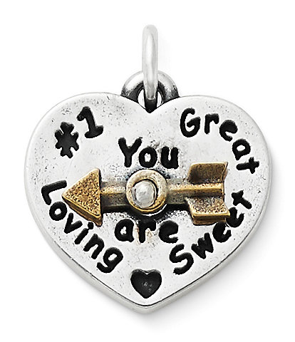 James Avery You Are Sweet Spinner Charm