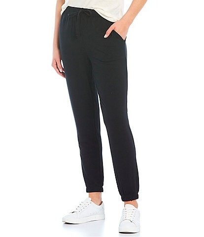 Jasmine & Ginger Solid French Terry Lounge Jogger Pants