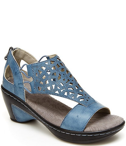 JBU by Jambu Isla Perforated Wedge Sandals