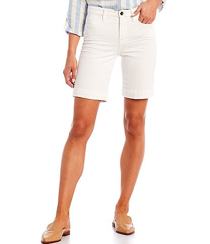 JEN7 by 7 for All Mankind High Rise Bermuda Pocketed Shorts