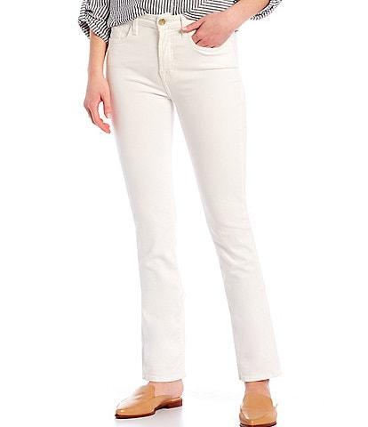 JEN7 by 7 for All Mankind Released Hem Slim Straight Leg Jeans