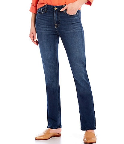 JEN7 by 7 for All Mankind Slim Straight Leg Jeans