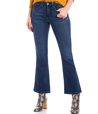 JEN7 by 7 for All Mankind Straight Hem Cropped Kick Jeans