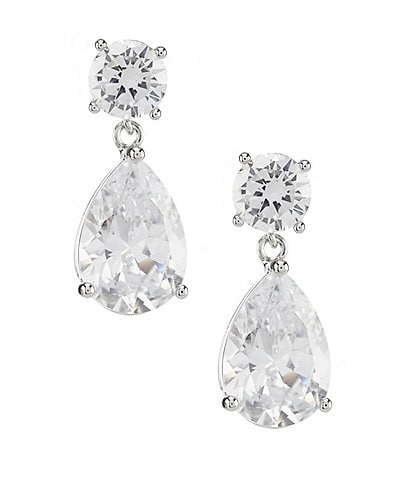 Jenny Packham Crystal Pear Drop Earrings