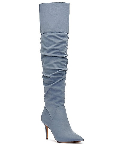 Jessica Simpson Anitah Pointed Toe Over-The-Knee Boots