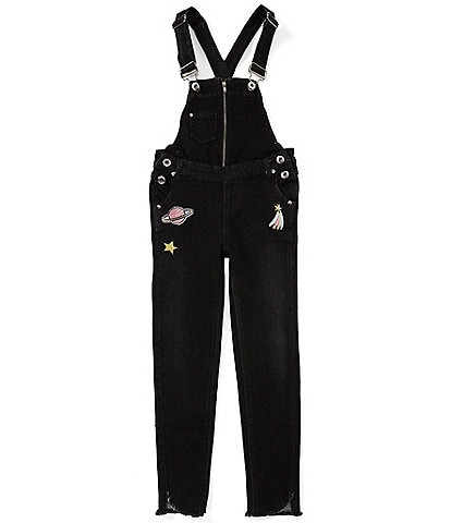 Jessica Simpson Big Girls 7-16 Alexa Denim Overalls