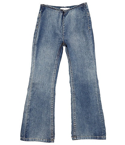 Jessica Simpson Big Girls 7-16 Denim Flare Jeggings