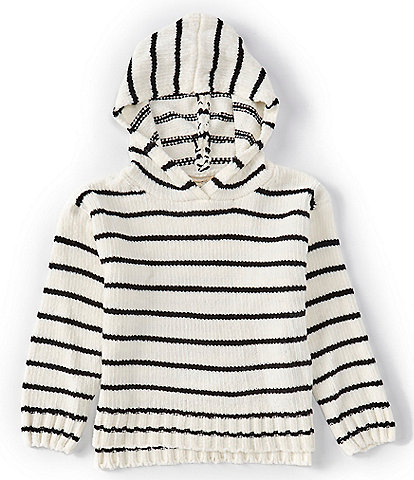 Jessica Simpson Big Girls 7-16 Long-Sleeve Chenille Hooded Sweater Top