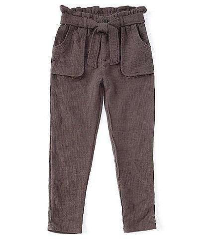 Jessica Simpson Big Girls 7-16 Paperbag-Waist Tie-Belted Pants