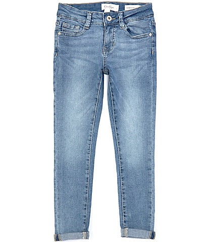 Jessica Simpson Big Girls 7-16 Roll-Cuff Ankle Jeans