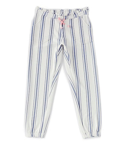 Jessica Simpson Big Girls 7-16 Shadow Striped French Terry Pants