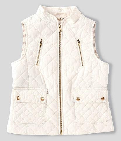 Jessica Simpson Big Girls 7-16 Sleeveless Quilted Vest