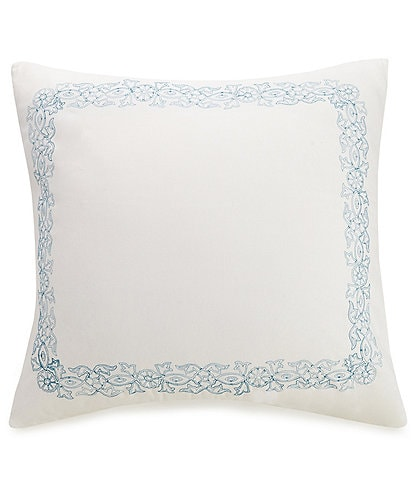 Jessica Simpson Bonnie Embroidered Frame Euro Sham