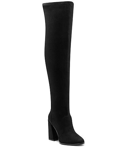 Jessica Simpson Brixten Faux Suede Over-the-Knee Block Heel Boots