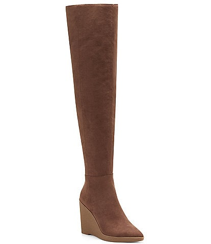 Jessica Simpson Cassida Wedge Over-The-Knee Boots