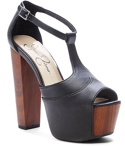 5fa91f1e44ee Jessica Simpson Dany Platform Sandals