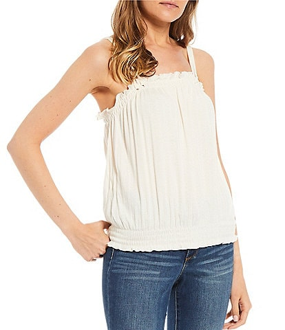 Jessica Simpson Finley Pointelle Knit Top
