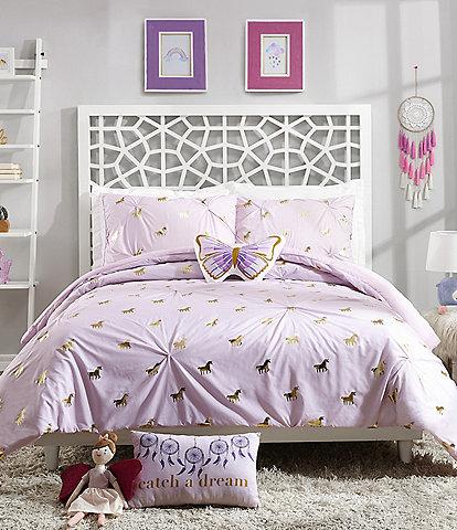 Jessica Simpson Kids Fiona Unicorn Comforter Set