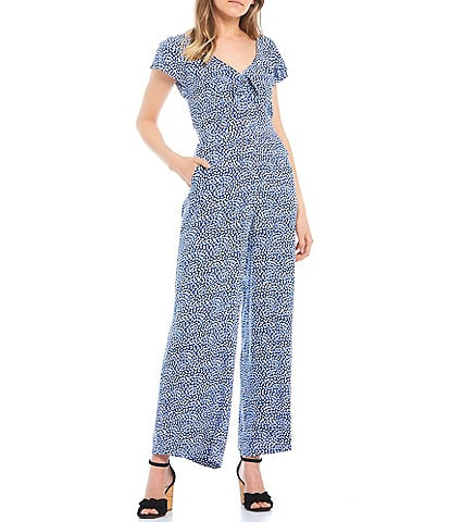 Jessica Simpson Forest Printed Jumpsuit