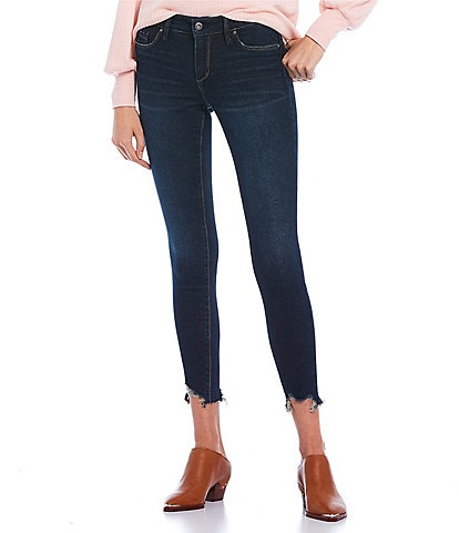 Jessica Simpson Kiss Me Low Rise Ankle Skinny Jeans