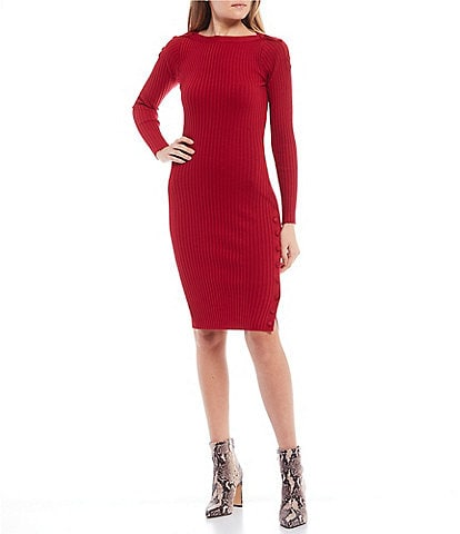 Jessica Simpson Madeleine Ribbed Dress