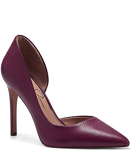 Jessica Simpson Prizma Leather d'Orsay Pumps