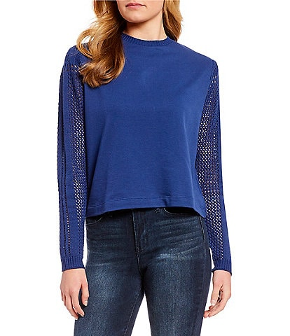 Jessica Simpson Susie Long-Sleeve Sweater