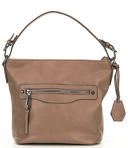 f4b0a3319f Jessica Simpson Talie Top Zip Hobo Bag