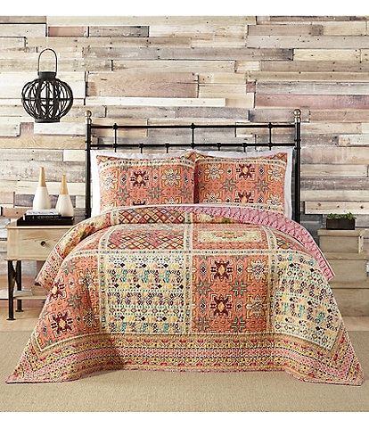 Jessica Simpson Tikatw Collection Tribal Printed Quilt