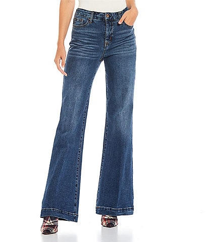 Jessica Simpson True Love Wide Leg Jeans