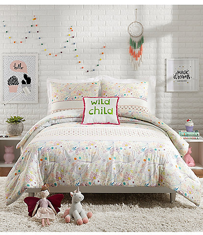 Jessica Simpson Kids Whimsical Paisley Comforter Set