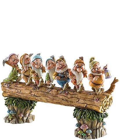 Jim Shore Disney Traditions by Jim Shore Homeward Bound Snow White and the Seven Dwarfs Figurine