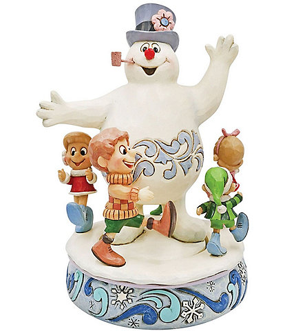 Jim Shore Frosty the Snowman Collection Frosty With Parading Children Figurine