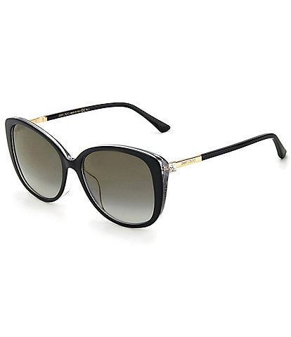 Jimmy Choo Aly Butterfly 57mm Sunglasses