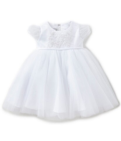 Joan Calabrese Baby Girls 6-24 Months Embroidered Dress