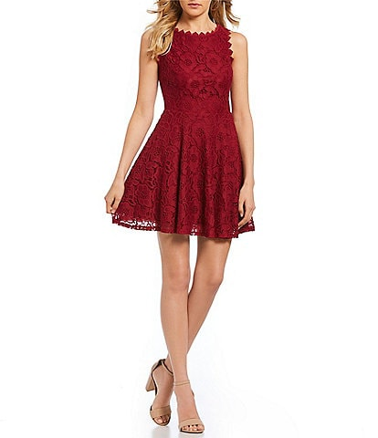 Red Dresses for Juniors